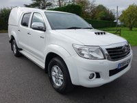2014 TOYOTA HI-LUX ICON 4X4 Double Cab Pick Up 2.5 D-4D 142ps £14995.00
