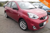 USED 2014 64 NISSAN MICRA 1.2 LIMITED EDITION 5d 79 BHP GREAT SPECIFICATION,ONE OWNER,LOW MILEAGE.