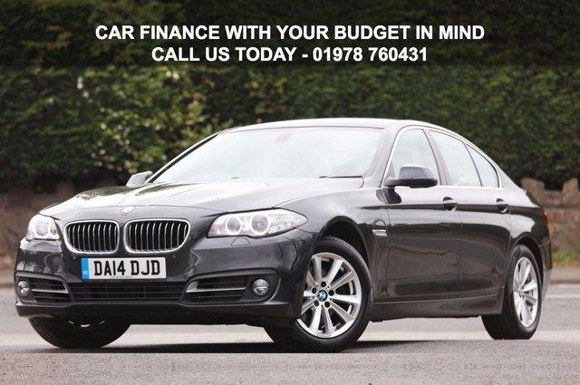 2014 14 BMW 5 SERIES 2.0 520D SE 4d AUTO 181 BHP