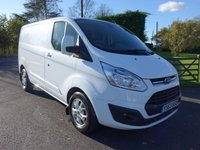 USED 2014 63 FORD TRANSIT CUSTOM 290 LIMITED L1 Swb 2.2Tdci 125Ps High Specification With Only 19000 Miles!