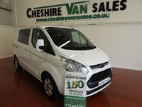 USED 2015 15 FORD TRANSIT CUSTOM 2.2 290 LIMITED 6 SEAT CREW VAN  125 BHP KOMBI VAN CHOICE CHOICE OF CUSTOM CREW VAN 6 SEAT COMBI