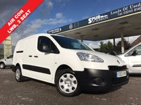 USED 2013 13 PEUGEOT PARTNER 1.6 E-HDI SE L2 750 1d 89 BHP Long Wheel Base, Air Con, 3 Seat, Good Service History.