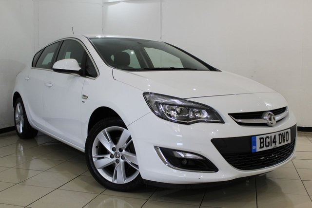 View our 2014 14 VAUXHALL ASTRA 1.4 SRI 5DR 98 BHP