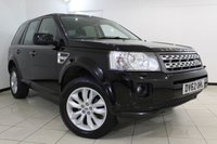 USED 2012 62 LAND ROVER FREELANDER 2.2 SD4 XS 5DR AUTOMATIC 190 BHP FULL SERVICE HISTORY + HALF LEATHER SEATS + SAT NAVIGATION + PARKING SENSOR + BLUETOOTH + CRUISE CONTROL + MULTI FUNCTION WHEEL + 18 INCH ALLOY WHEELS