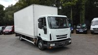 USED 2010 10 IVECO-FORD EUROCARGO 3.9 75E16S BOX WITH TAIL LIFT AUTOMATIC 160 BHP Low Owners, Low Km's, Tail Lift