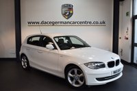 USED 2011 11 BMW 1 SERIES 2.0 116I SPORT 5DR 121 BHP + BMW SERVICE HISTORY + SPORTS SEATS + AIR CONDITIONING + AUTO STOP/START FUNCTION + 17 INCH ALLOY WHEELS +