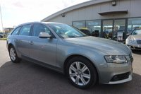 USED 2011 11 AUDI A4 2.0 AVANT TDI SE DPF 5d AUTO 141 BHP LOW DEPOSIT OR NO DEPOSIT FINANCE AVAILABLE.