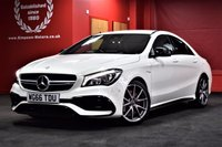 USED 2016 66 MERCEDES-BENZ CLA 2.0 AMG CLA 45 4MATIC 4d AUTO 375 BHP