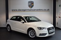USED 2013 62 AUDI A3 1.4 TFSI SE 3DR 121 BHP + FULL SERVICE HISTORY + VOICE COMMAND + PARK ASSIST + TELEPHONE + 16 INCH ALLOY WHEELS +