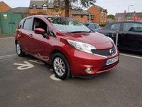 USED 2013 63 NISSAN NOTE 1.2 ACENTA 5d 80 BHP WITH AUXILLIARY INPUT, USB , MEDIA ,AIR CONDITIONING AND ALLOY WHEELS!!..EXCELLENT FUEL ECONOMY!!..LOW CO2 EMISSIONS(109G/KM)..£20 ROAD TAX..FULL NISSAN SERVICE HISTORY...ONLY 9877 MILES FROM NEW!!