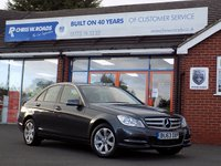 USED 2013 63 MERCEDES-BENZ C CLASS C220 CDi BLUEEFFICIENCY EXECUTIVE SE 4dr 168 BHP
