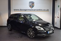 USED 2013 13 MERCEDES-BENZ B CLASS 1.8 B200 CDI BLUEEFFICIENCY SPORT 5DR 136 BHP +  FULL CREAM LEATHER INTERIOR + EXCELLENT SERVICE HISTORY + BLUETOOTH + REAR VIEW CAMERA + NAV PREP + NIGHT PACKAGE + 18 INCH ALLOY WHEELS +