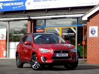 USED 2015 15 MITSUBISHI ASX 1.8 Di-D 4 5dr * Pan Roof Nav & Leather *