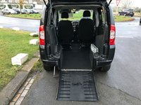 USED 2010 60 FIAT QUBO 1.2 MULTIJET SIRUS WHEELCHAIR ACCESS DRIVE FROM YOUR CHAIR