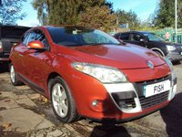 USED 2010 10 RENAULT MEGANE 1.9 DYNAMIQUE DCI 2d 130BHP 1OWNER FROM NEW+2KEYS+MEDIA+
