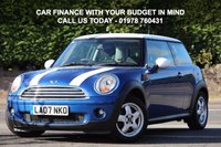 USED 2007 07 MINI HATCH COOPER 1.6 COOPER 3d 118 BHP Service History Included