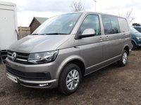 USED 2017 17 VOLKSWAGEN TRANSPORTER T6 T30 2.0TDI 150 PS SWB DSG HIGHLINE KOMBI High Spec Kombi Auto