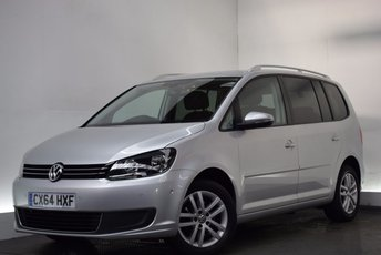 2014 VOLKSWAGEN TOURAN 1.6 SE TDI BLUEMOTION TECHNOLOGY 5d 103 BHP £11290.00
