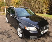 USED 2008 58 VOLVO V50 2.0 SE LUX D 5d 135 BHP 6 MONTHS PARTS+ LABOUR WARRANTY+AA COVER