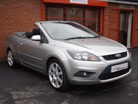 USED 2008 58 FORD FOCUS CC 2.0 CC2 2d  FSH - ONLY 68K - CLEAN EXAMPLE