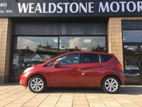 USED 2014 14 NISSAN NOTE 1.2 TEKNA [PANORAMIC ROOF] COMFORT DIG-S 5d AUTO 98 BHP GLASS PANORAMIC ROOF + SAT NAV