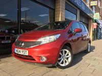 2014 NISSAN NOTE 1.2 TEKNA [PANORAMIC ROOF] COMFORT DIG-S 5d AUTO 98 BHP £8995.00