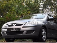 USED 2004 04 VAUXHALL CORSA 1.0 ENERGY 5d 60 BHP ULTRA LOW MILES 15K FSH VGC