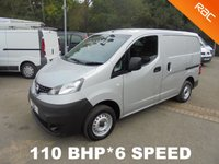 2012 NISSAN NV200 1.5 DCI SE 110 BHP 6 Speed *PARKING CAMERA*AIR CON*MET SILVER* £5995.00
