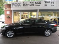 USED 2012 61 JAGUAR XF 2.2 D LUXURY 4d AUTO 190 BHP JAGUAR XF 2.2 D LUXURY 4d AUTO 190 BHP