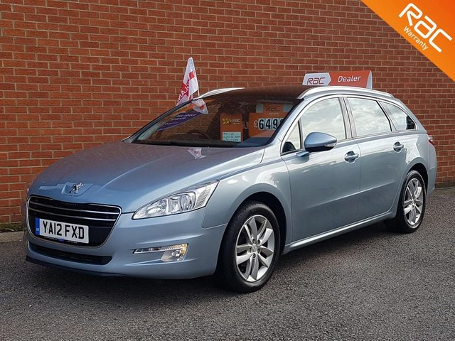 2012 12 PEUGEOT 508 2.0 HDI SW ACTIVE 5d 140 BHP  PANORAMIC ROOF