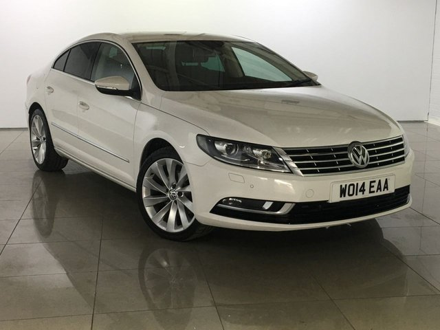 View our 2014 14 VOLKSWAGEN CC 2.0 GT TDI BLUEMOTION TECHNOLOGY DSG 4d AUTO 138 BHP