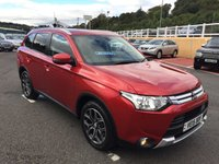 USED 2015 15 MITSUBISHI OUTLANDER 2.3 DI-D GX 3 5d 147 BHP 7 Seats, Black leather, one owner with FSH & just serviced