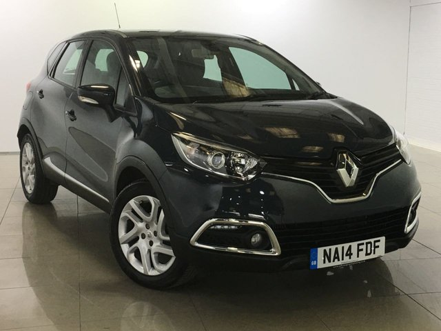 View our 2014 14 RENAULT CAPTUR 0.9 DYNAMIQUE MEDIANAV ENERGY TCE S/S 5d 90 BHP
