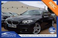USED 2014 14 BMW 5 SERIES 2.0 520D M SPORT 4d AUTO 181 BHP SATNAV, HEATED SEATS, XENONS & MORE