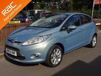 2009 FORD FIESTA 1.2 ZETEC 5dr, Service History £5990.00
