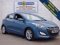 USED 2014 64 HYUNDAI I30 1.6 STYLE NAV BLUE DRIVE CRDI 5d 126 BHP Full Dealer History Free Tax 0% Deposit Finance Available