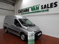USED 2012 12 CITROEN DISPATCH 2.0 L2 H2 HDI 1200 LWB HI ROOF 100 BHP WITH FSH 1 OWNER VERY CLEAN VAN LWB WITH A HIGH ROOF CHOICE
