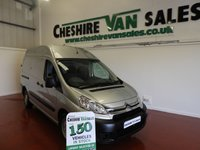 USED 2012 12 CITROEN DISPATCH 2.0 L2 H2 HDI 1200 LWB HI ROOF 100 BHP WITH FSH 1 OWNER 1 OWNER WITH LOW MILES FSH CHOICE