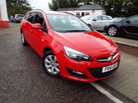 USED 2014 14 VAUXHALL ASTRA 1.6 DESIGN 5d AUTO 115 BHP One Owner Full Service History AUTOMATIC ESTATE