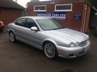 USED 2009 59 JAGUAR X-TYPE 2.2 SPORT PREMIUM 4d AUTO 145 BHP FULL SERVICE HISTORY, FULL QUILTED LEATHER