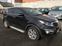 USED 2010 60 KIA SPORTAGE 2.0 CRDI FIRST EDITION 5d 134 BHP PRICE INCLUDES A 6 MONTH AA WARRANTY DEALER CARE EXTENDED GUARANTEE, 1 YEARS MOT AND A OIL & FILTERS SERVICE. 12 MONTHS FREE BREAKDOWN COVER