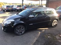 USED 2012 62 RENAULT CLIO 1.5 DYNAMIQUE TOMTOM DCI 3d 88 BHP £20 ROAD TAX, 2 OWNERS, SAT NAV