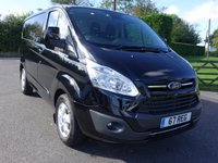 USED 2017 67 FORD TRANSIT CUSTOM Euro 6 Limited L1 H1 Swb 2.170 Tdci 170 Ps Very Hi Spec !! Top Of Range 170ps Limited With Additional Sat Nav & Reversing Camera