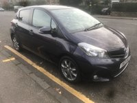 USED 2013 13 TOYOTA YARIS 1.3 VVT-I SR 5d 98 BHP PRICE INCLUDES A 6 MONTH AA WARRANTY DEALER CARE EXTENDED GUARANTEE, 1 YEARS MOT AND A OIL & FILTERS SERVICE. 12 MONTHS FREE BREAKDOWN COVER