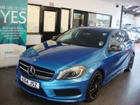 2014 MERCEDES-BENZ A CLASS 2.1 A220 CDI BLUEEFFICIENCY AMG SPORT 5d AUTO 170 BHP £15995.00