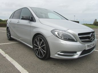 2013 MERCEDES-BENZ B CLASS 1.6 B180 BLUEEFFICIENCY SPORT 5d AUTO 122 BHP £SOLD