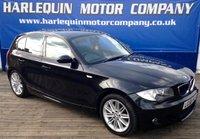 2008 BMW 1 SERIES 2.0 120D M SPORT 5d AUTO 175 BHP £6489.00
