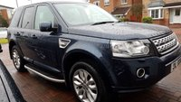 USED 2013 13 LAND ROVER FREELANDER 2.2 SD4 HSE LUXURY 5d AUTO 190 BHP