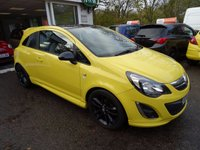 USED 2014 64 VAUXHALL CORSA 1.2 LIMITED EDITION 3d 83 BHP Full Service History + Just Serviced by ourselves, One Previous Owner, MOT until October 2018 (no advisories)
