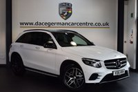 USED 2016 16 MERCEDES-BENZ GLC-CLASS 2.1 GLC 220 D 4MATIC AMG LINE PREMIUM 5DR 168 BHP + SATELLITE NAVIGATION + FULL HEATED LEATHER INTERIOR + FULL MERC SERVICE HISTORY + CRUISE CONTROL + REAR CAMERA + AMG SPORTS PACKAGE INTERIOR + ALLOY WHEELS +